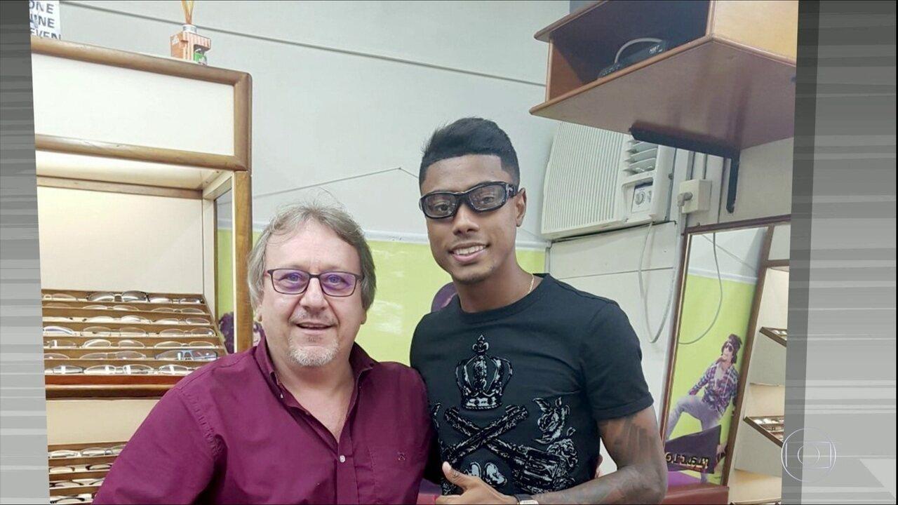 Globo Esporte SP explica o que aconteceu com o olho de Bruno Henrique