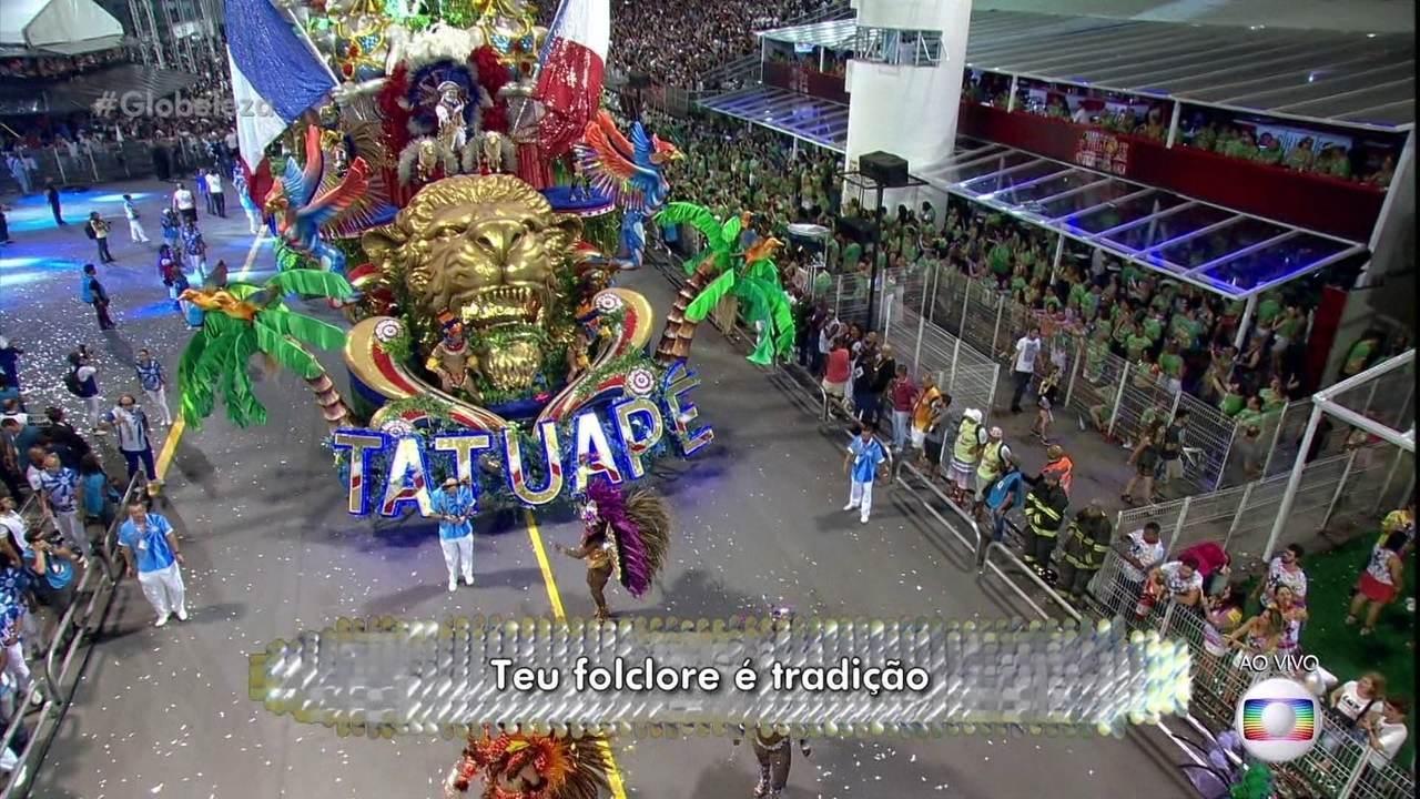 Samba enredo da Tatuapé faz homenagem ao Maranhão