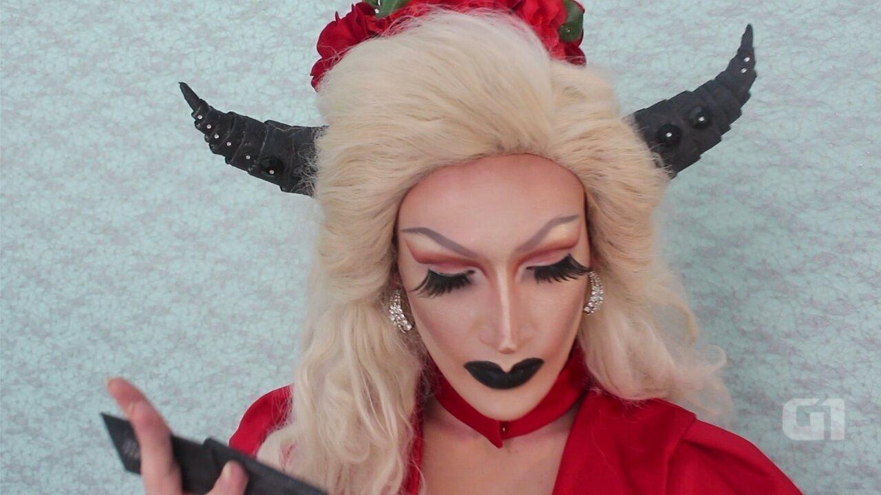 Aprenda o passo a passo de uma maquiagem no estilo Drag Queen