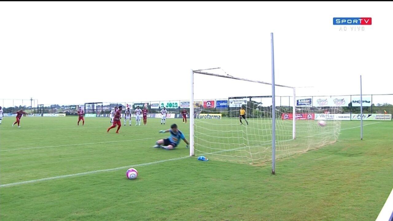 Os gols de Votuporanguense 2 x 2 Portuguesa, pela Série A2 do Campeonato Paulista