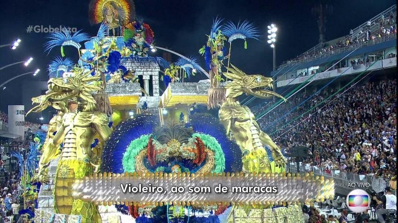 Samba-enredo da Vila Maria traz o México para o sambódromo