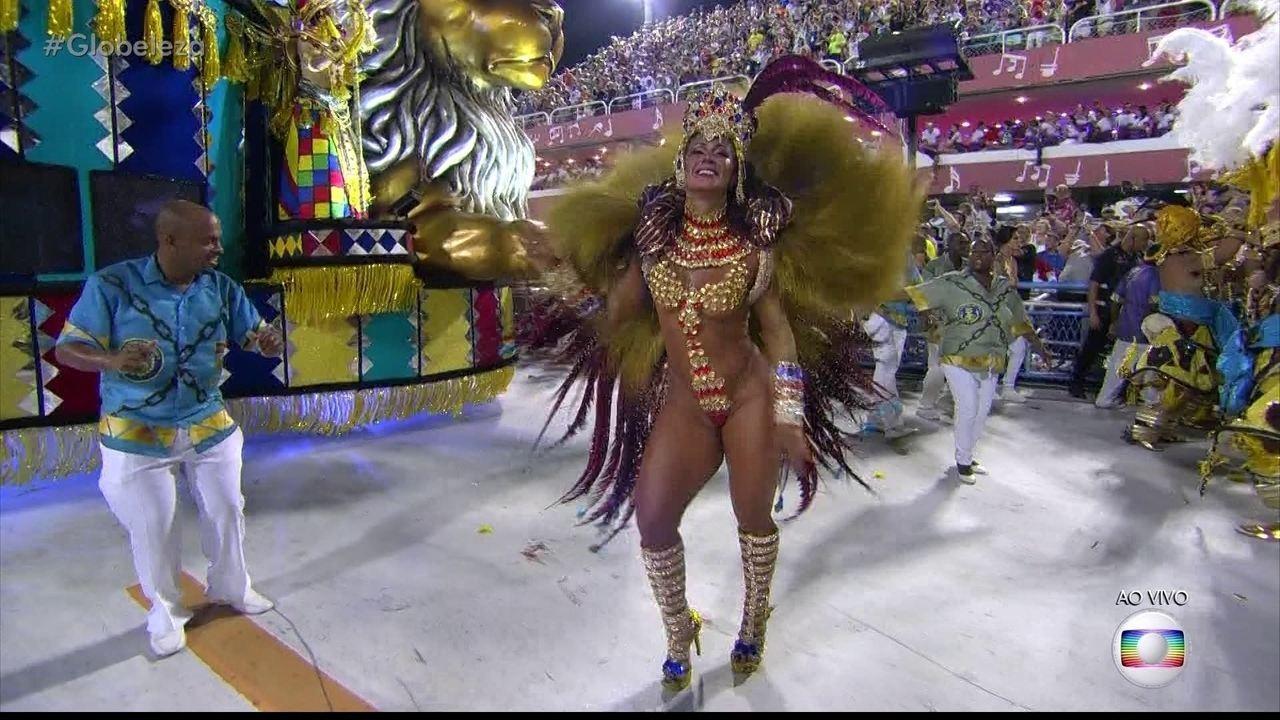 Musas da Tuiuti mostram samba no pé
