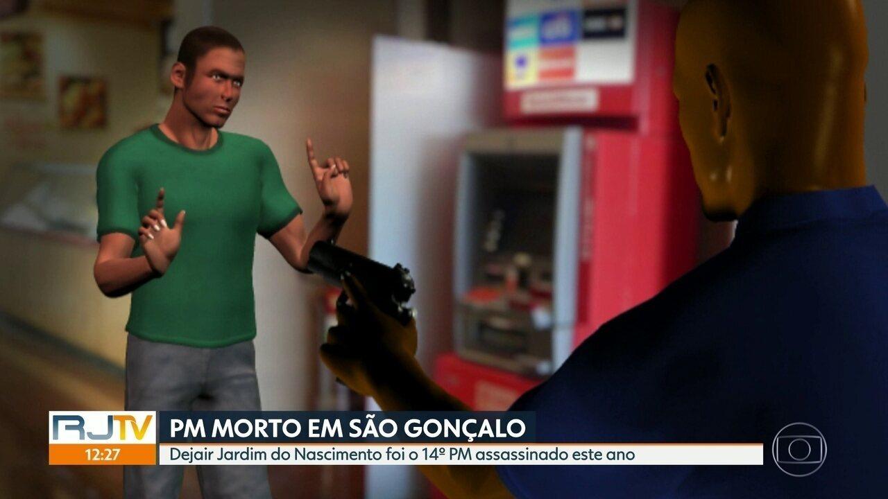PM morto em São Gonçalo durante assalto