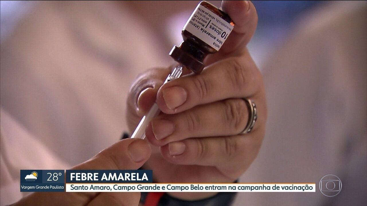São Paulo registra o primeiro caso de contágio de febre amarela na capital