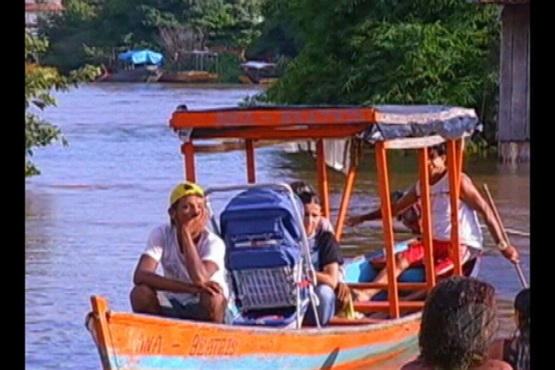 14 municípios do Pará já foram afetados por enchentes e aumento do nível dos rios