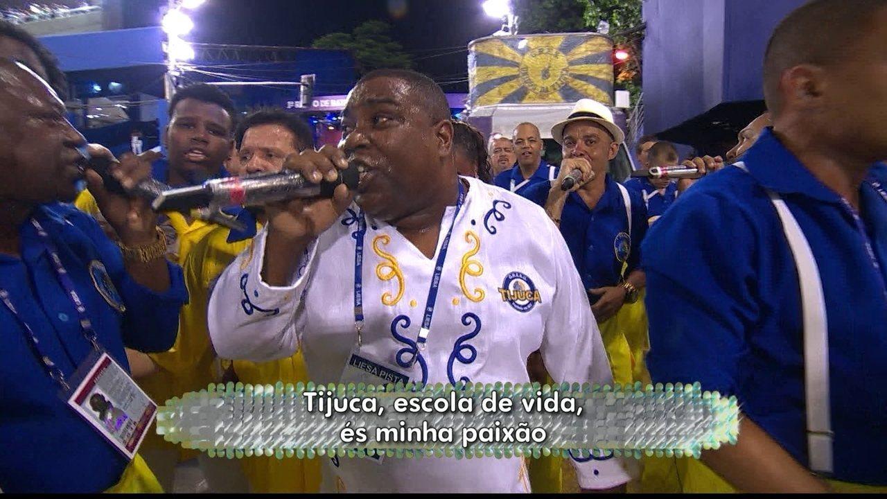Unidos da Tijuca faz homenagem ao ator e diretor Miguel Falabella
