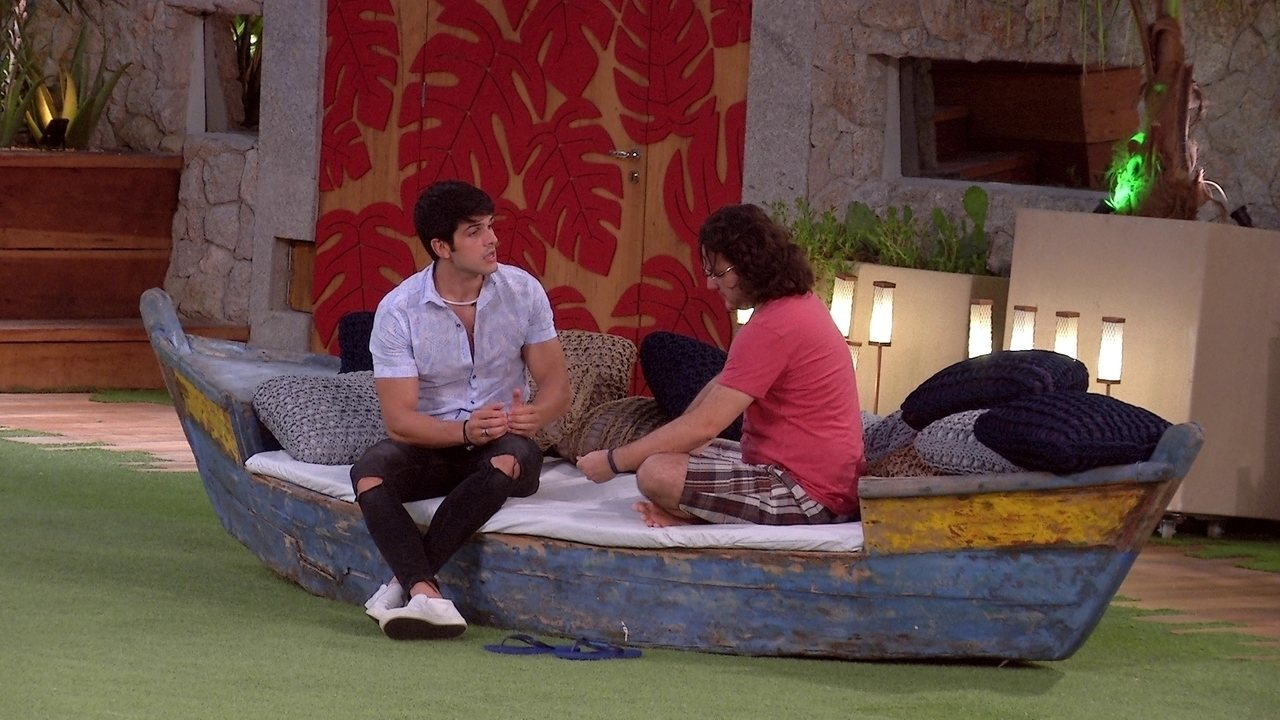 Lucas desabafa com Diego: 'Estou sendo julgado pelo Brasil inteiro'