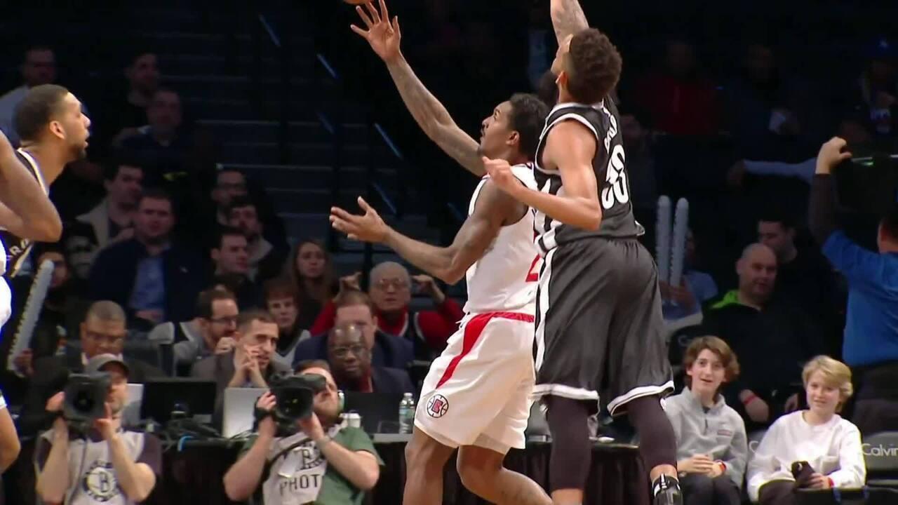 Melhores momentos: Clippers 114 x 101 Nets pela NBA