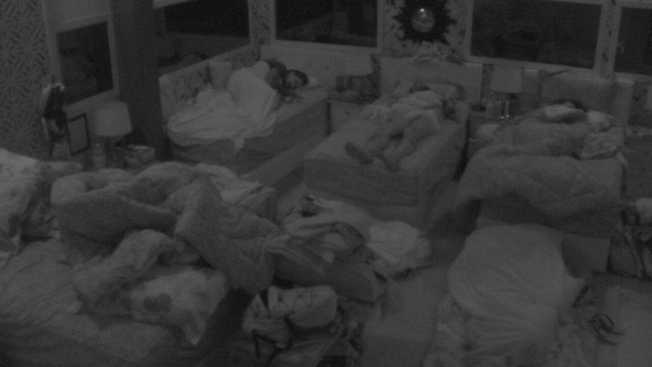 Após noite de Jogo da Discórdia, todos dormem no Quarto Tropical