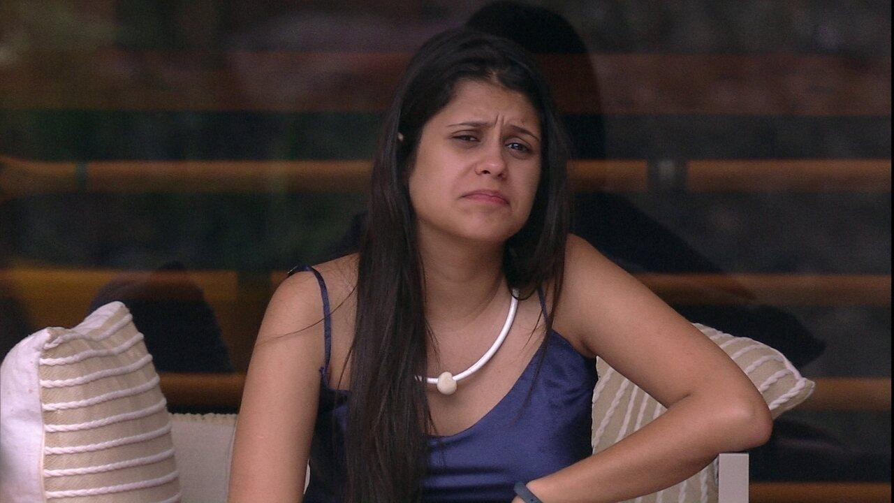 Ana Paula avalia relação com os brothers: 'Eles vão ter que me engolir'