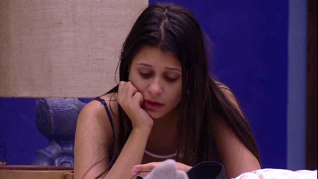 Ana Paula se defende para Diego: 'Sou a pessoa mais aberta e receptiva'