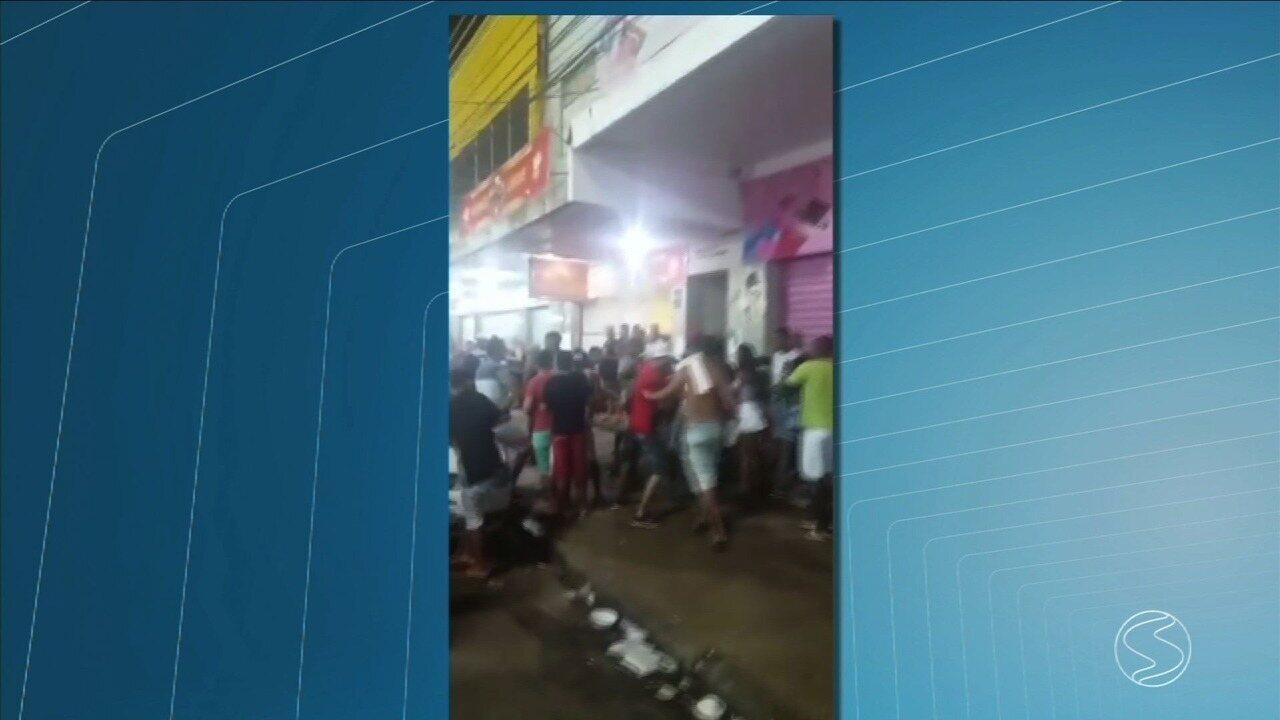 Suspeito é baleado e preso após matar jovem e ferir três durante carnaval em Três Rios