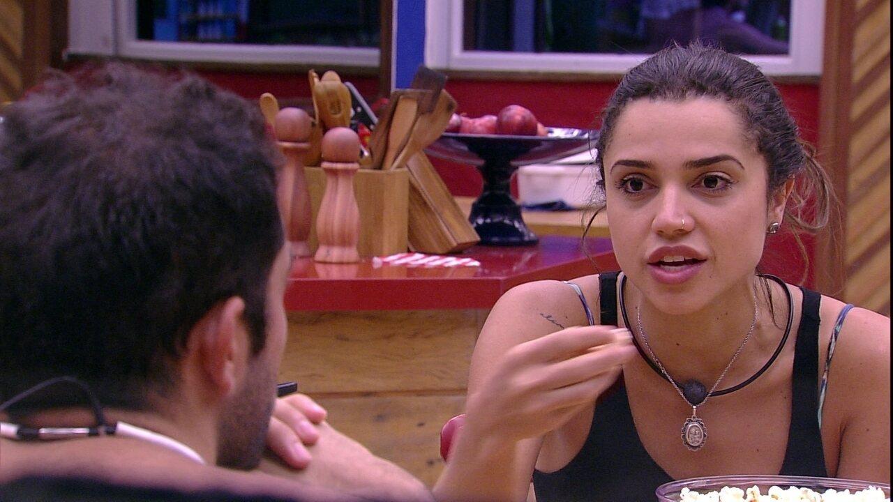 Paula sobre indicação de Diego: 'Eu não esperava, mas quem sabe é o público'