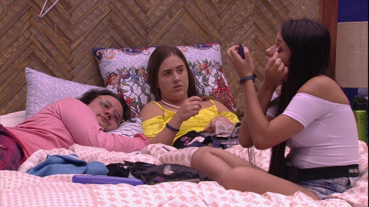 Ana Paula e Diego falam de Ana Clara e Patrícia comenta: 'Quero morrer amiga de vocês'