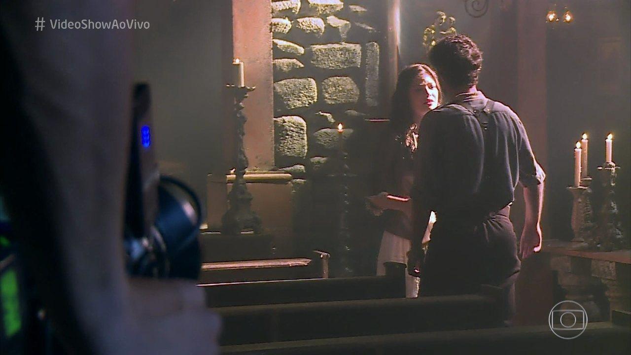 Maria Vitória e Inácio finalmente se reencontram em 'Tempo de Amar'