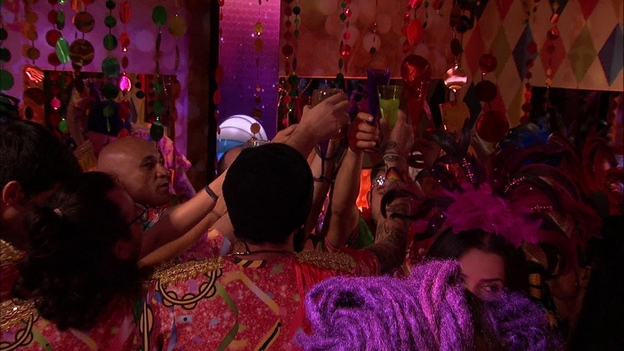 Brothers fazem brinde na Festa Samba