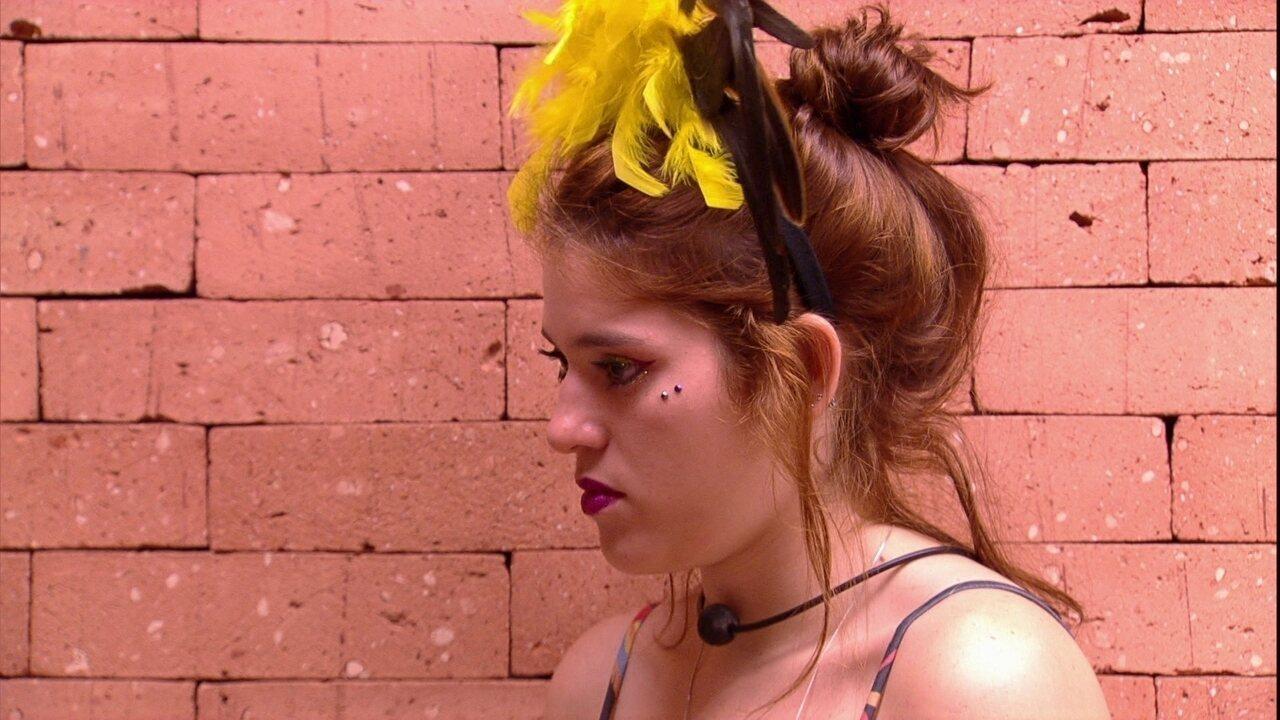 Jéssica desabafa com Ana Clara e ouve conselho da sister