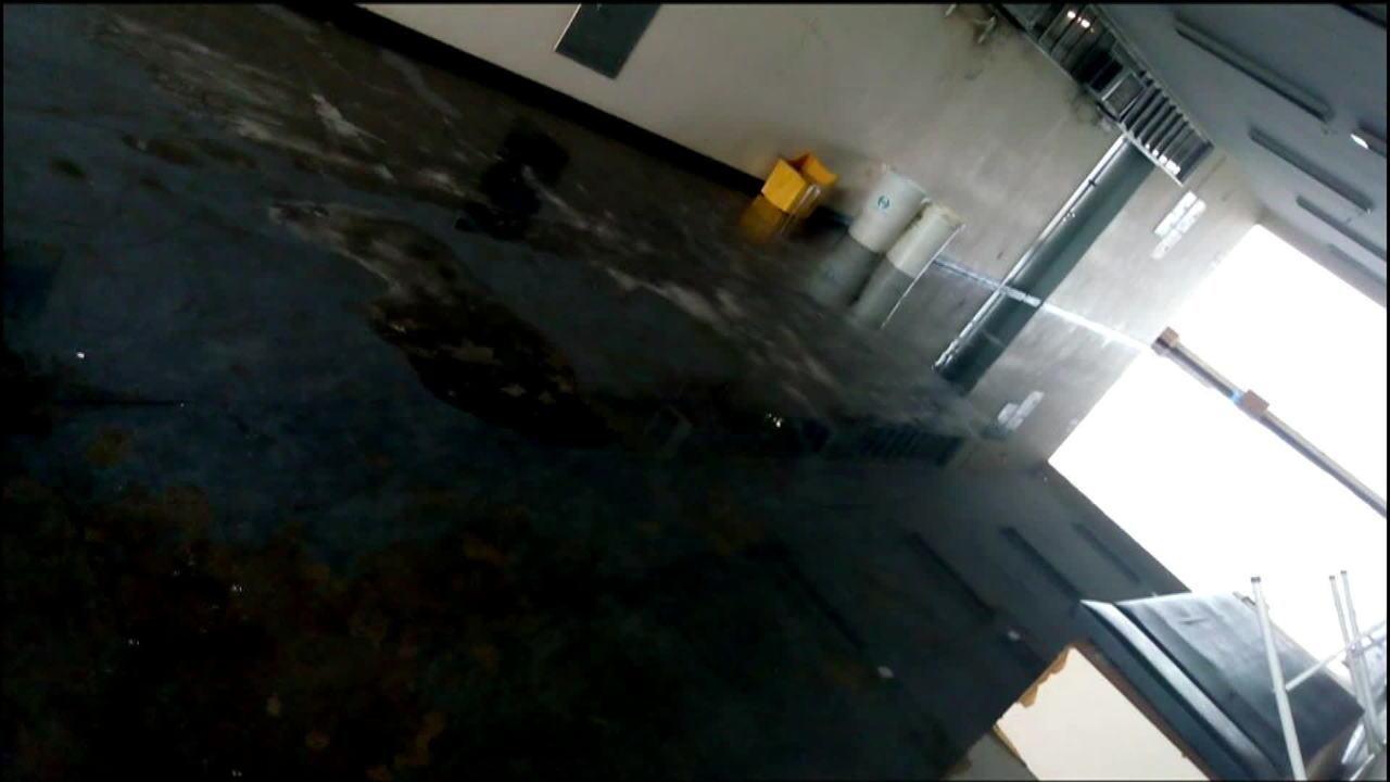 Pelo menos seis hospitais foram prejudicados pela chuva que atingiu o Rio