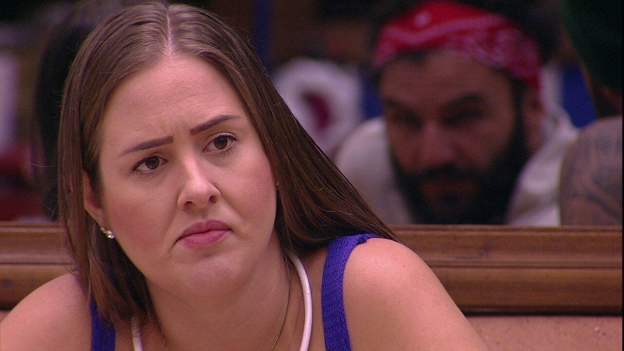 Patrícia diz que Ana Paula é estrategista