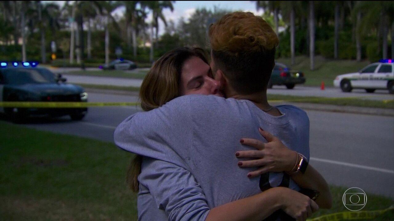 Autoridades americanas confirmam a morte de 17 pessoas em tiroteio numa escola da Flórida