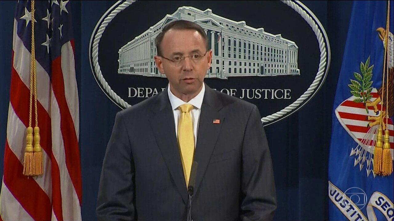 Justiça americana acusa, formalmente, russos de interferir nas eleições presidenciais