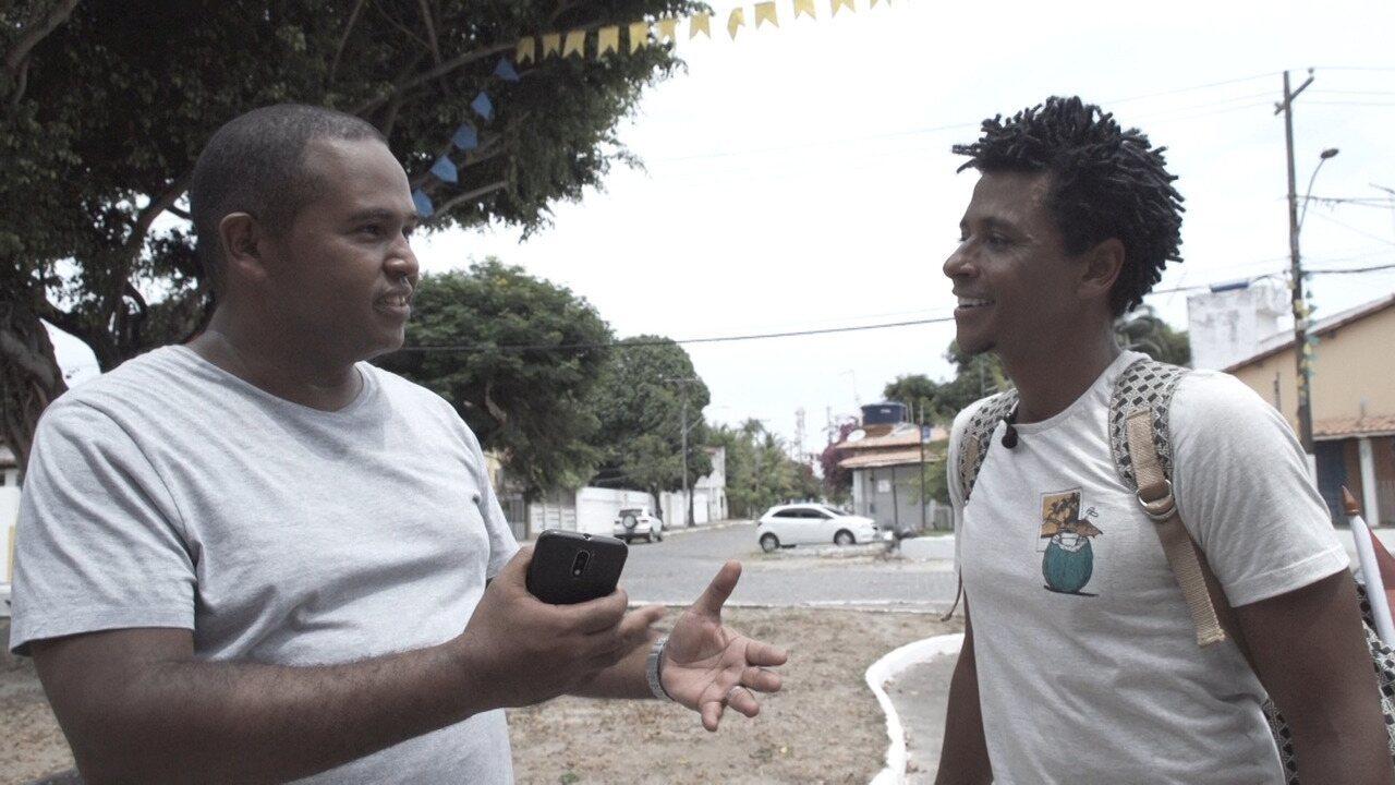 O 'Vumbora' conhece as histórias e lendas da Ilha de Itaparica
