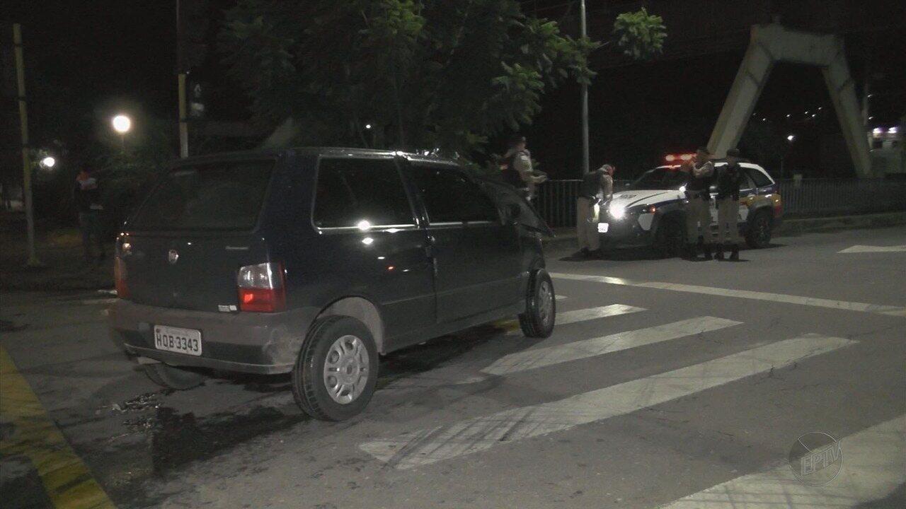 Duas motoristas ficam feridas em acidente de carro em Poços de Caldas, MG
