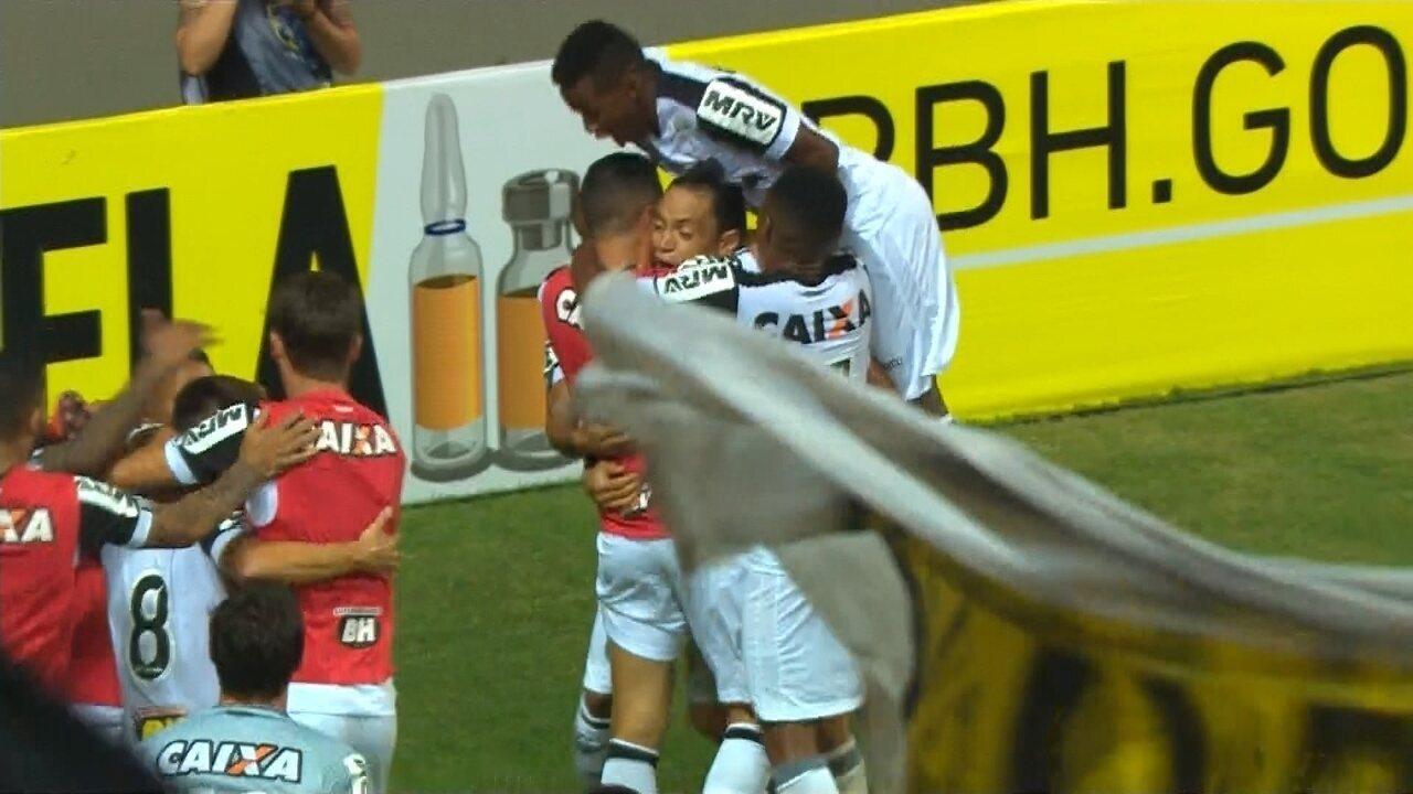 Os gols de América-MG 0 x 3 Atlético-MG pelo Campeonato Mineiro