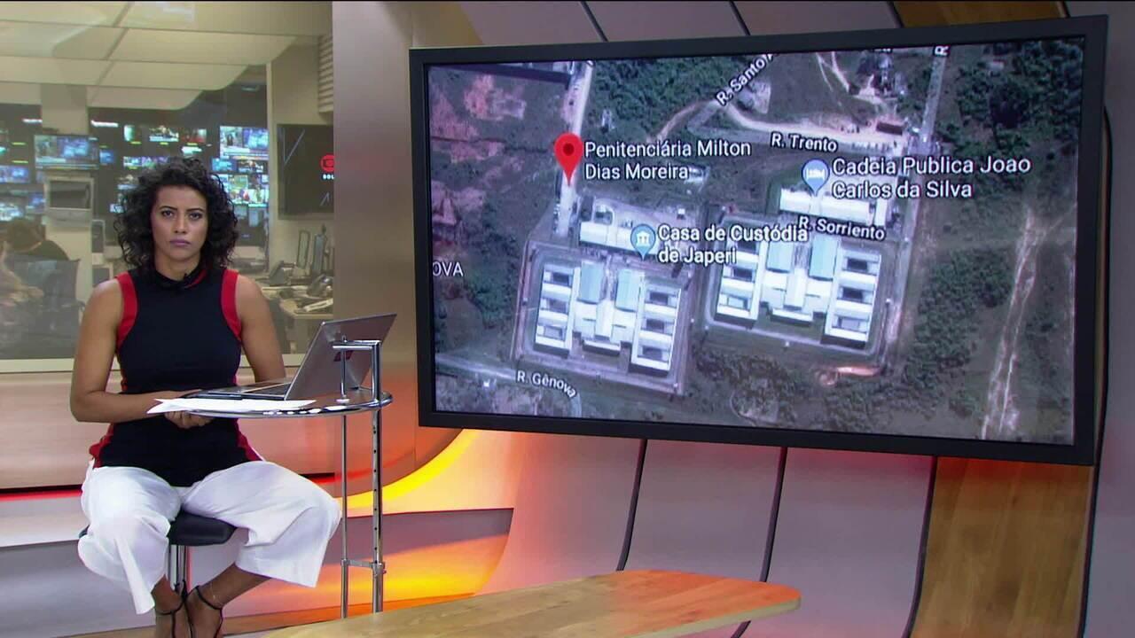 PM é acionada para conter rebelião em presídio no RJ