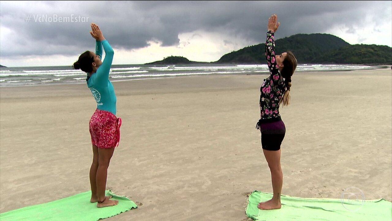 Projeto apoia mulheres na hora de surfar