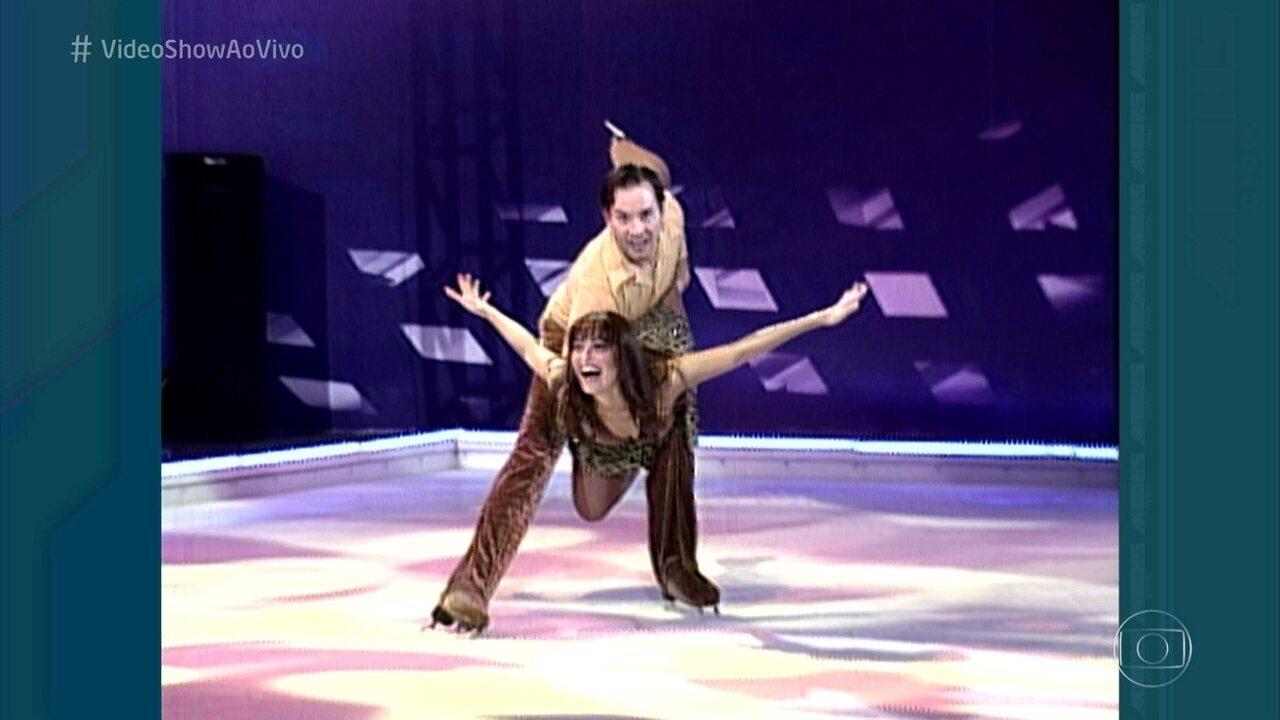 Relembre Juliana Paes no 'Dança no Gelo'