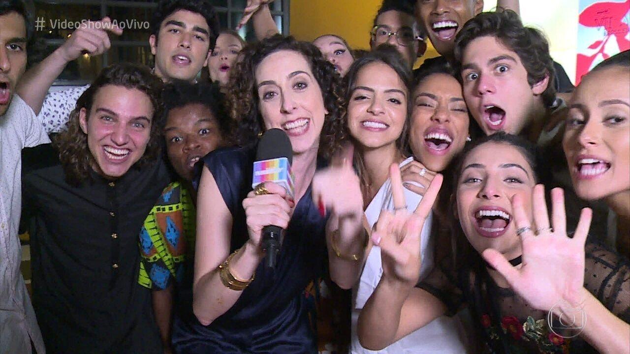 'Vídeo show' mostra as novidades de 'Malhação: Vidas Brasileiras', com cenas exclusivas