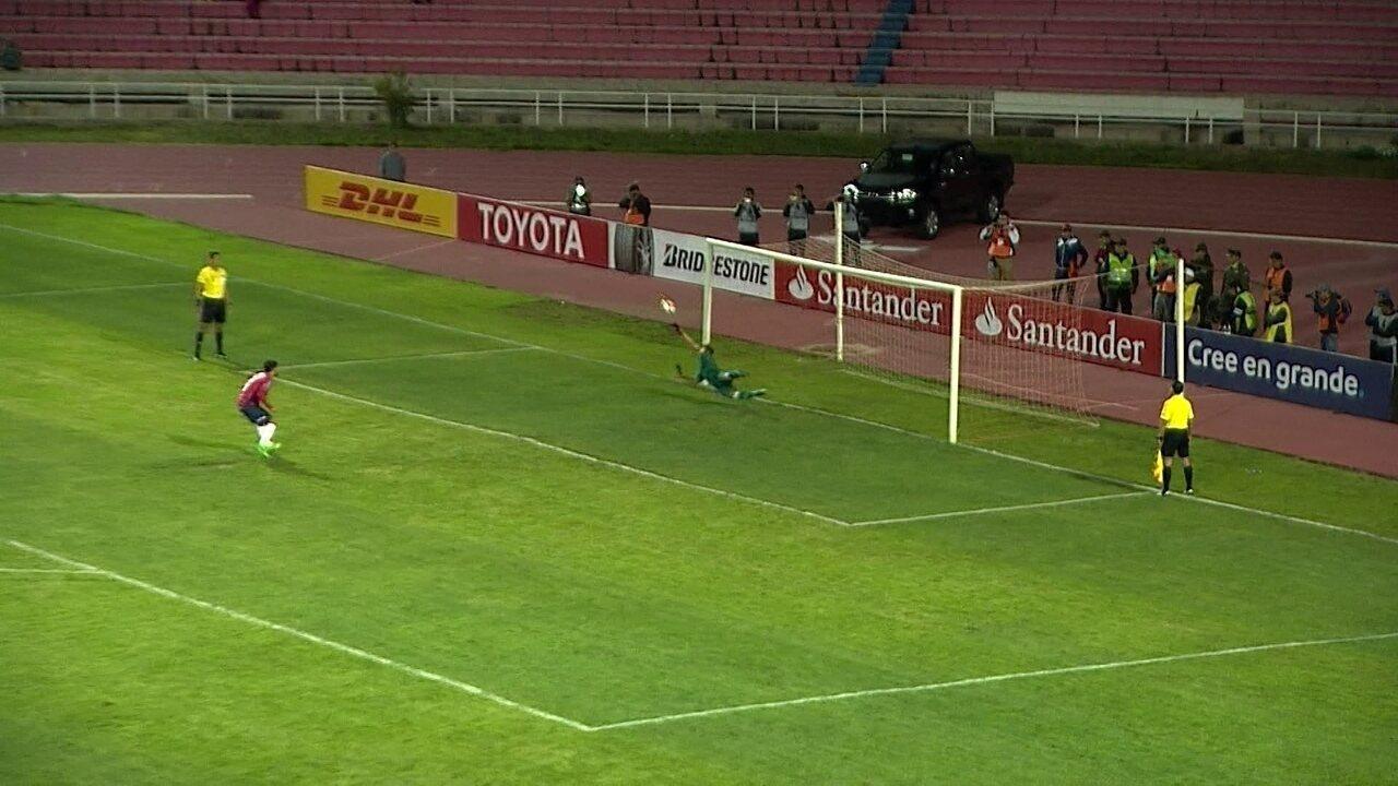 Os gols de Jorge Wilstermann 4 (2 x 3) 0 Vasco pela Taça Libertadores da América 2018