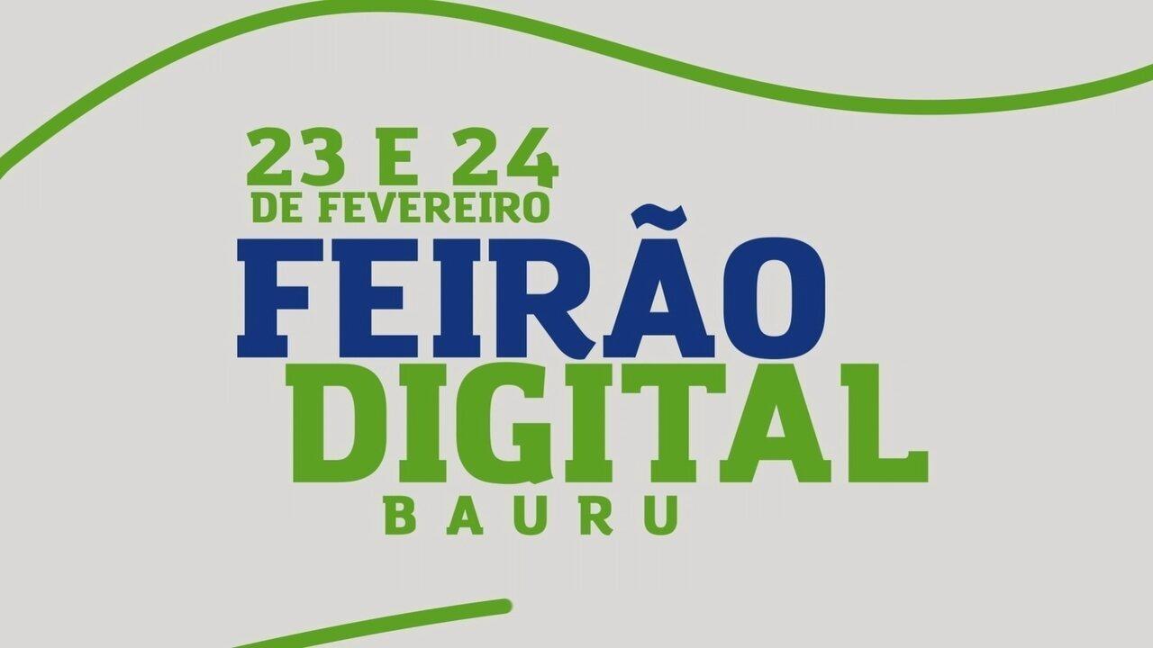TV TEM realiza 'Feirão Digital' na cidade de Bauru
