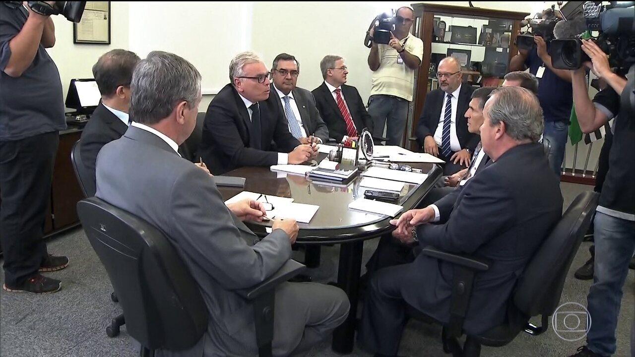 Secretários de SP, MG e ES discutem com ministro possíveis efeitos de intervenção no RJ