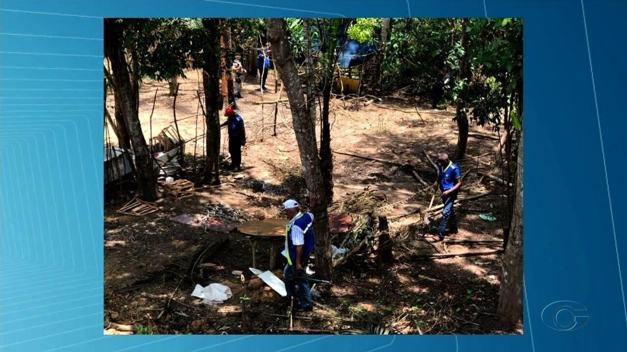 Fiscais flagram desmatamento em área de condomínio em Maceió
