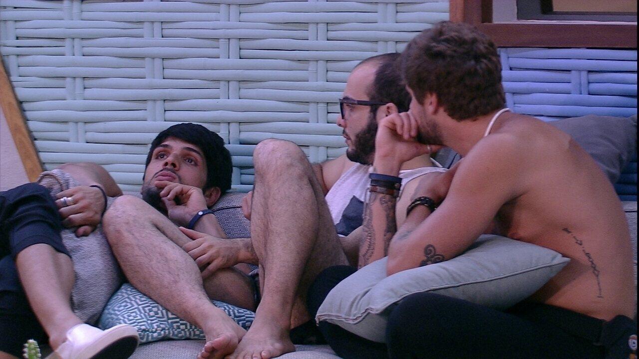 Lucas acredita que Diego será indicado para o Paredão