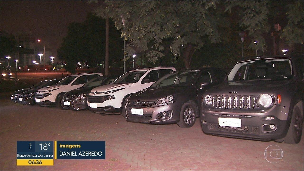 Quadrilha que roubava veículos de grandes locadoras é presa em SP