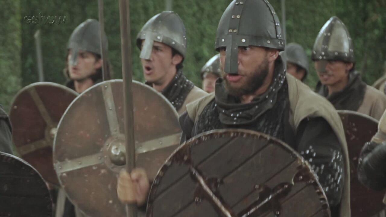 Confira os bastidores da batalha entre Montemor e Artena