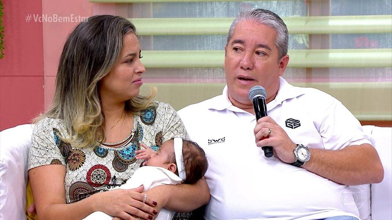 Relembre momentos da fertilização da Fernanda