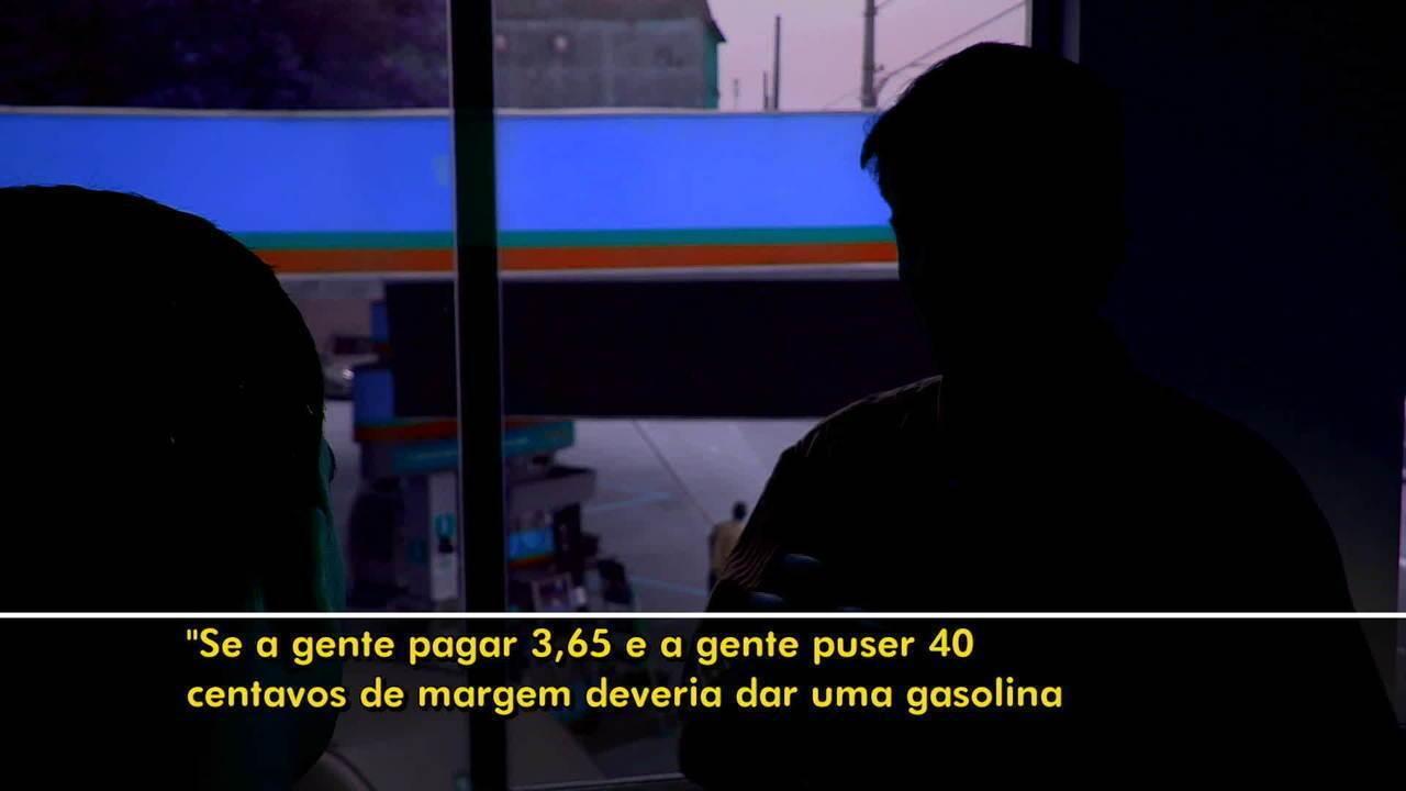 Empresário diz que postos prejudicam quem não 'batiza' gasolina