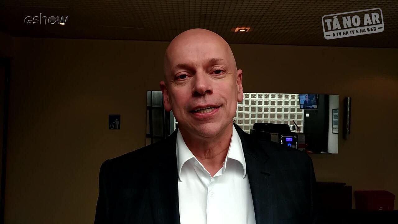 Leandro Karnal brinca sobre possíveis semelhanças: 'Vin Diesel? Você tem problema nos olho