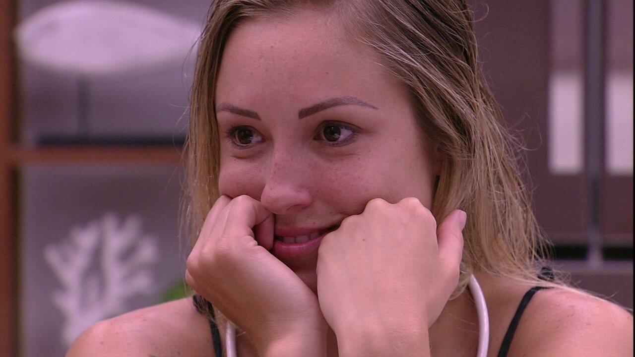 Jéssica diz que não posará nua após o BBB: 'Meu pai não vai gostar. Nem meu namorado'