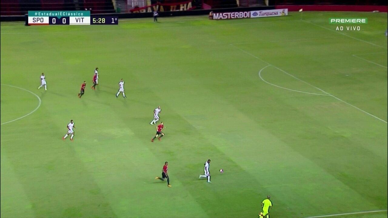 Melhores momentos de Sport 4 x 0 Vitória-PE pelo Campeonato Pernambucano
