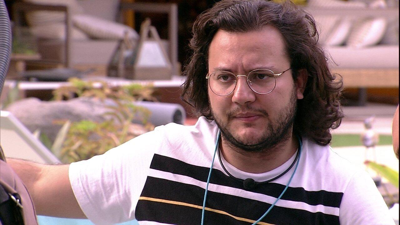 Diego afirma para brothers: 'A gente tem que ter plano A, plano B ir fechando tudo'