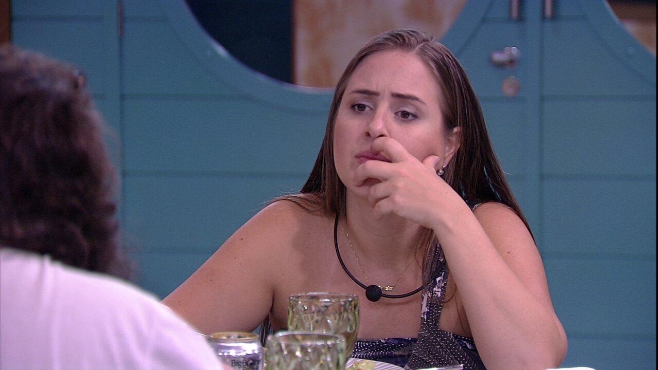 Patrícia crê que Jéssica deixou de ser planta, mas Diego alfineta: 'Continua sendo'