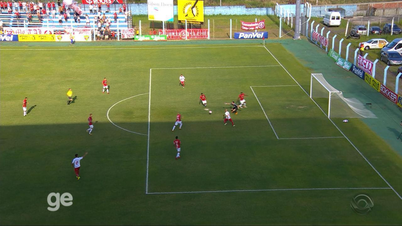 Confira os melhores momentos de Internacional 0x0 São Luiz de Ijuí pelo Gauchão