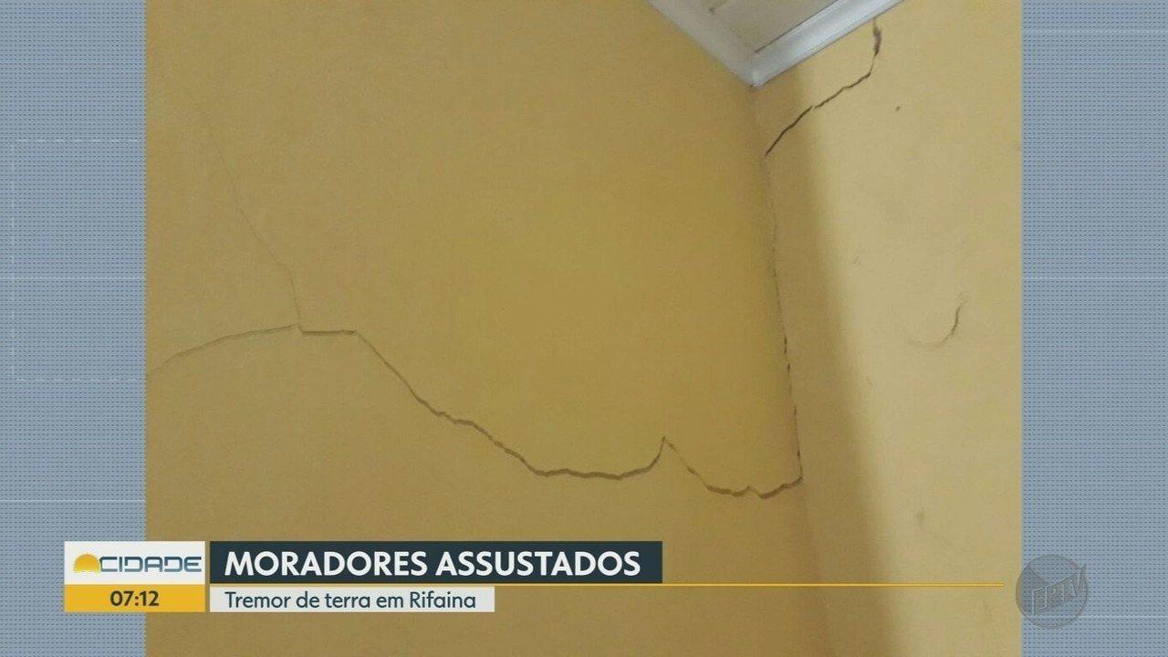 Tremor de magnitude 3 assusta moradores de Rifaina, SP