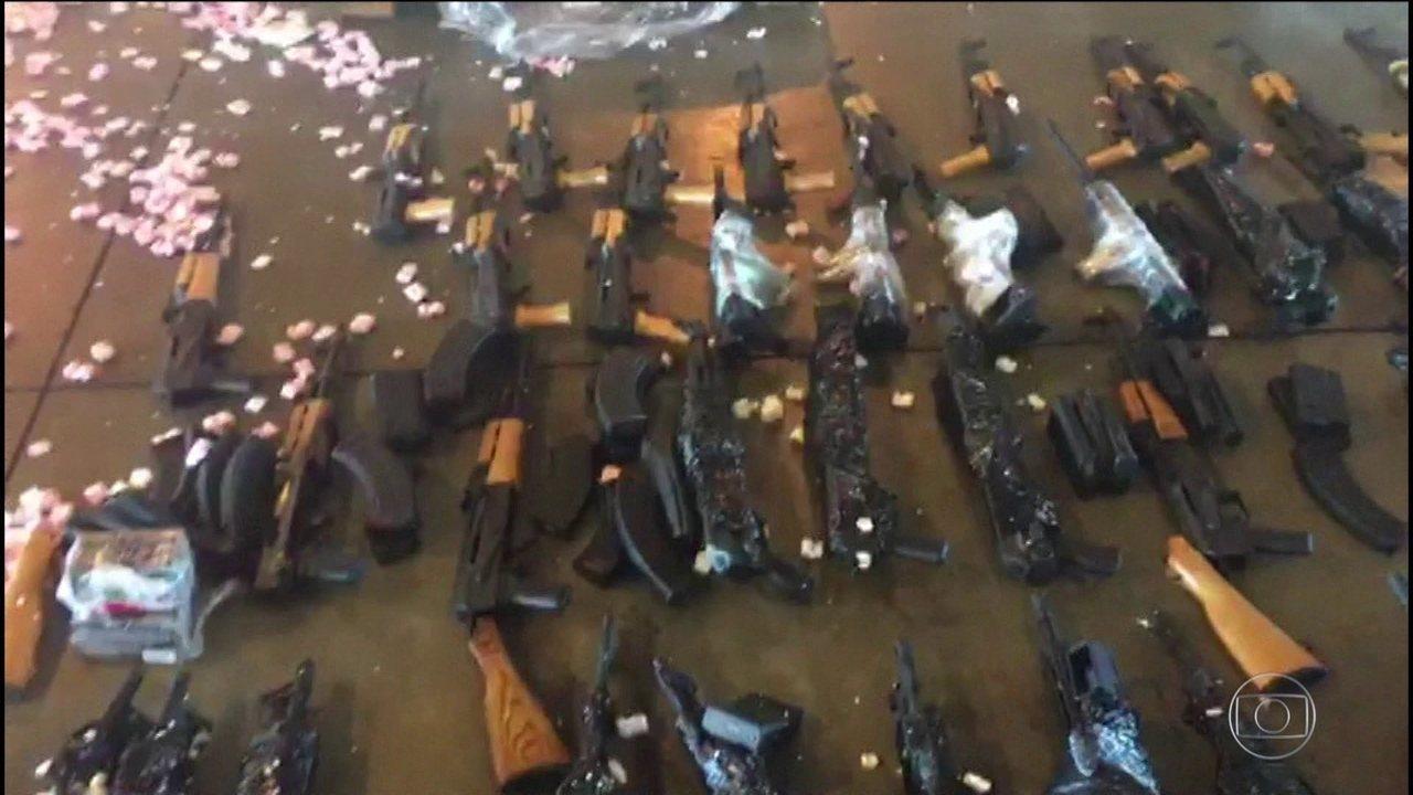 Maior traficante de armas do Brasil é julgado em Miami, nos EUA