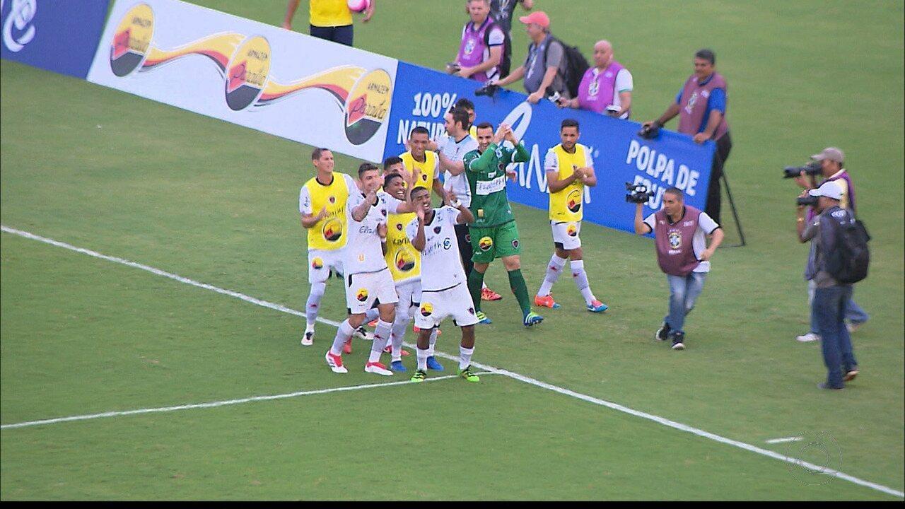 Confira os lances de Botafogo-PB 5 x 0 Desportiva